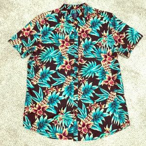 George Tropical Button Up Shirt